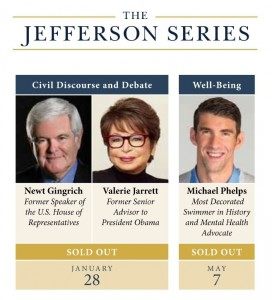 Jefferson Series Schedule Sold Out
