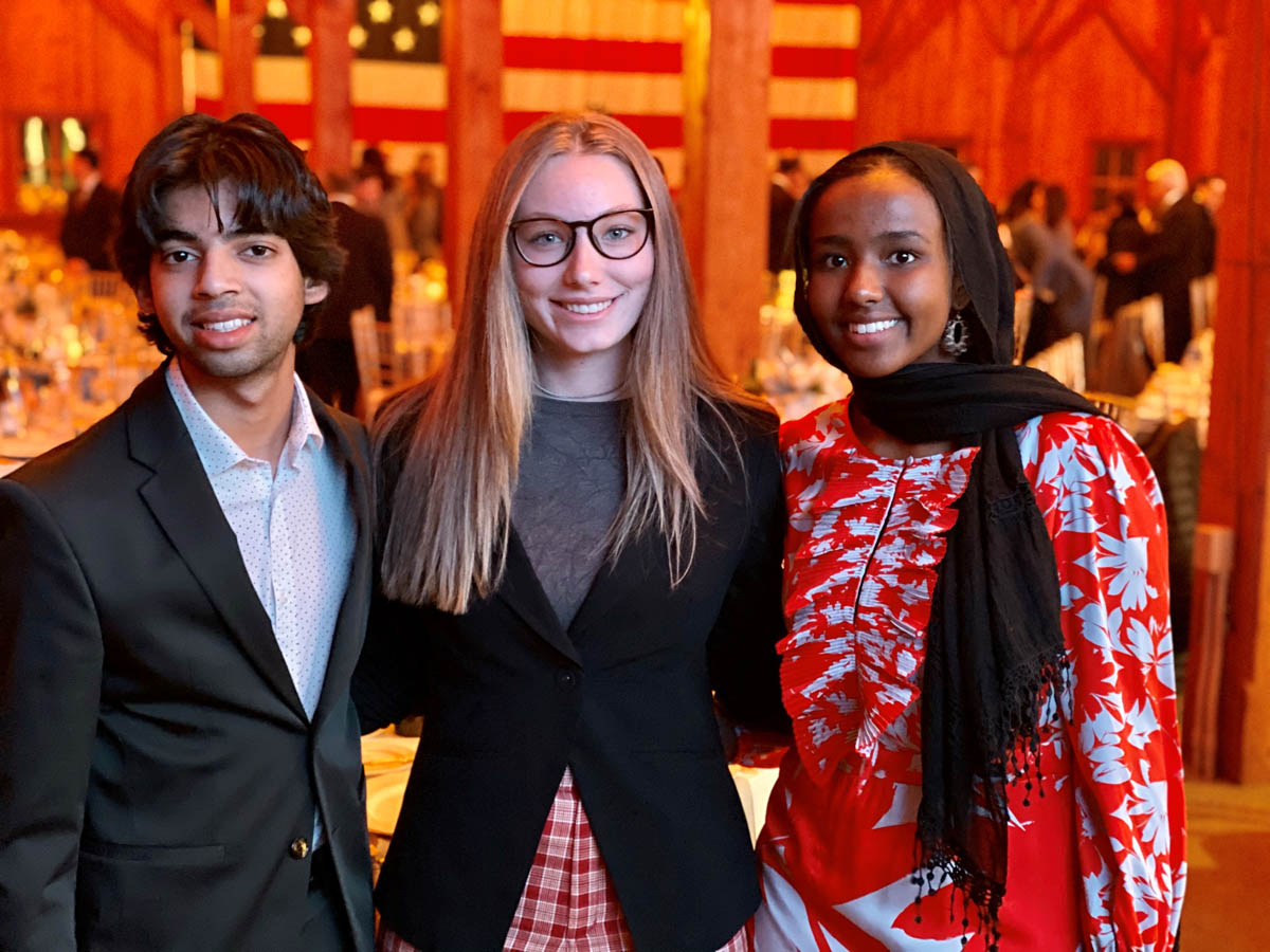 Students at The Jefferson Series event