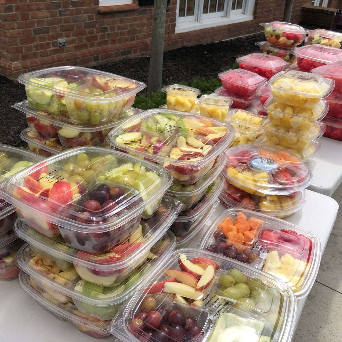 Containers of Fruit